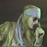 Lyricapsule: Axl Rose Dances with Mr. Brownstone; October 18, 1989