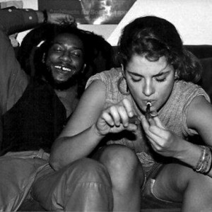 Brooke Shields Smokes Weed with HR