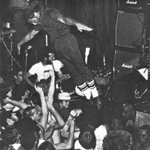 H.R. Stage-dives