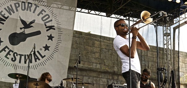 Trombone Shorty; Photo: Gavin Paul