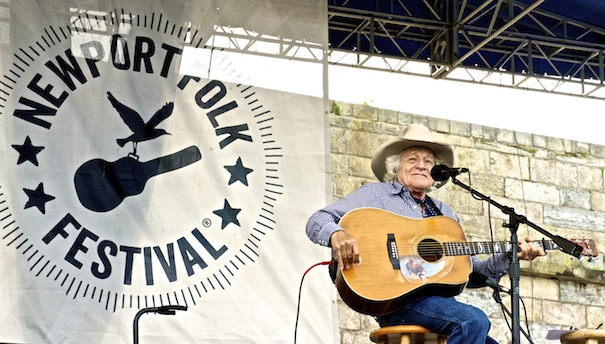 Ramblin' Jack Elliott; Photo: Gavin Paul