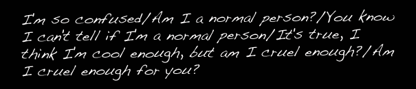 """Normal Person"""