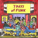 7 Days of Funk album art, courtesy of StonesThrow.com