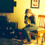 Streetside: Alec Ounsworth (Clap Your Hands Say Yeah) at Some Couple's Living Room in Portland, OR; March 20