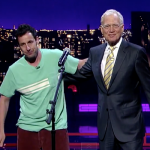 Adam Sandler Pays Homage to David Letterman