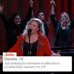 Since U Been Swiping: Kelly Clarkson Sings Tinder Profiles