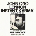 Lyricapsule: John Lennon Cuts 'Instant Karma' in a Day; January 27, 1970