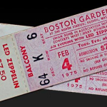 Lyricapsule: Zeppelin Fans Break the Led Out on the Boston Garden; January 6, 1975