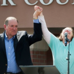 Mike Huckabee Owes Survivor $25k for 'Eye of the Tiger' Use at Kim Davis Rally