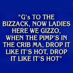 Pimp in the Crib: Snoop Dogg has Lyrical Debut on 'Jeopardy!' Game Show