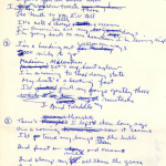 Bob Dylan's Handwritten Lyrics, Heart-Wrenching Tribute to Wisconsin, Going to Auction