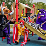 Mickey D's Themed Mac Sabbath Drop First Official Recording, Coloring Book, Plot Tour